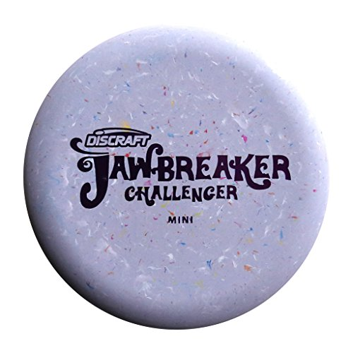 Discraft Mini Jawbreaker Challenger Disc Golf Mini Marker Disc [Colors may vary]