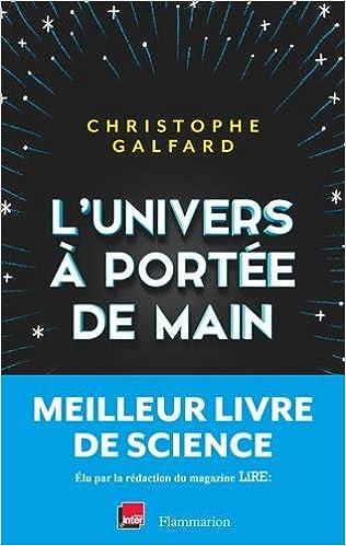 """""""L'univers à portée de main de Christophe Galfard"""