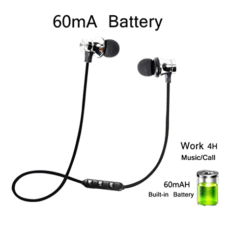 quite nice clearance prices better huainiu Cuffie per Lo Sport Bluetooth Headset Leggeri Attrazione Magnetica  Auricolari Bluetooth Cuffie Magnetiche Wireless per Sport Palestra ...