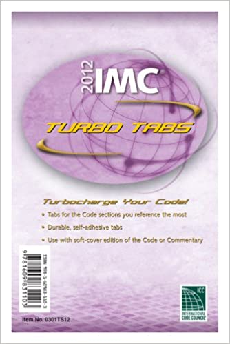 IMC Turbo Tabs 2012 International Code Council Series 1st Edition