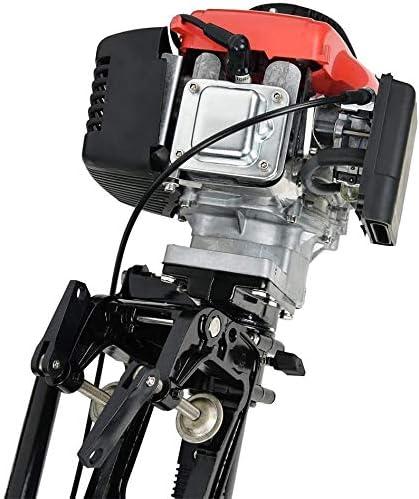 TABODD 4-Takt 4HP Au/ßenbordmotor Motor 4 HP 57CC Marine Bootsmotor Motor mit Luftk/ühlsystem und CDI Z/ündung f/ür kleine Boote Schlauchboote