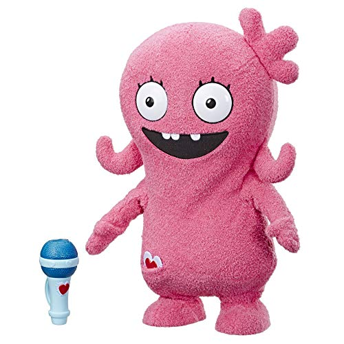 Hasbro UglyDolls Dance Moves Moxy, Toy That Talks, Sings, and Dances, 14 inches Tall