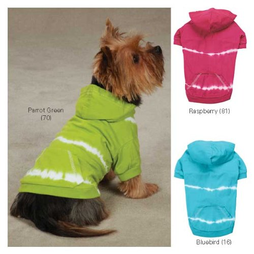 East Side Collection Tie Dye Dog Hoodie MD RAS, My Pet Supplies