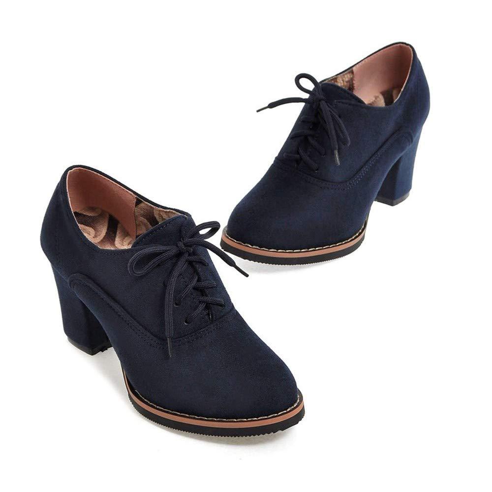 11cd93f botas altas con cordones y botines cuadrados gruesos