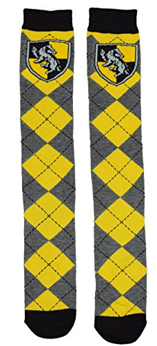 Harry Potter Hufflepuff School Uniform Knee High Socks (Hogwarts School Uniform)