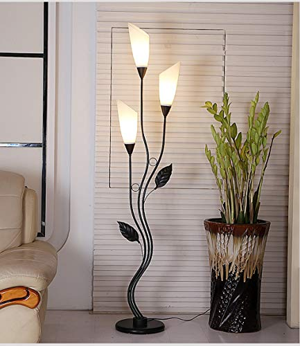 (Fashion Floor Lamp Living Room Bedroom Simple Iron Art Decorative Lights (Color :)