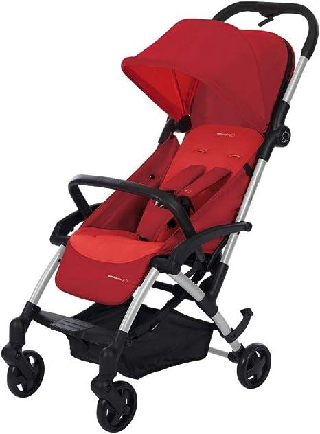 Opinión sobre Bébé Confort LAIKA 'Vivid Red' - Cochecito super urbano, ultracompacto y ligero, homologado para viajar, desde 0 meses hasta 3,5 años, color rojo
