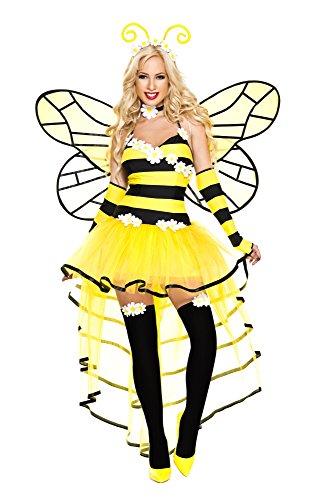 Queen Bee Costumes Women (Music Legs Deluxe Queen Bee (X-Large))