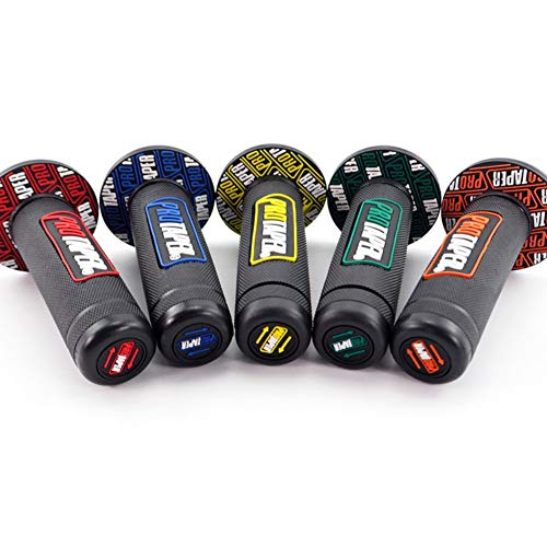und Rechtsgriff Kleber Motorrad Pro Kegel Schmutzgrubengriffe Lenkerendkappe Stopfen Schieber Standardstangen Bebliss Universal Motorradzubeh/ör Neuer PRO Links