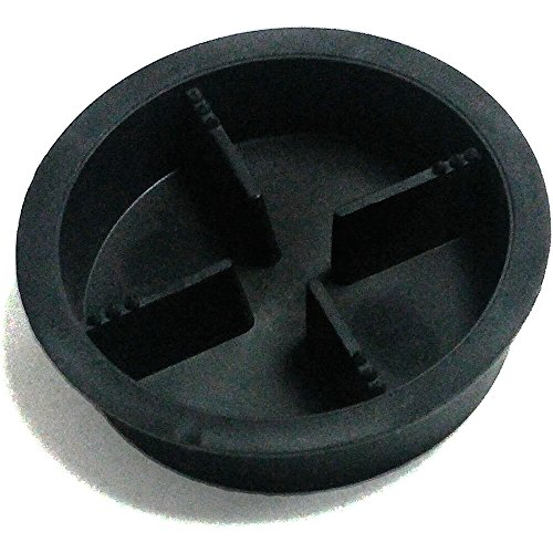 Matfer Bourgeat Parts Replacement Part For Santos Juicer, Glass Holder 880378