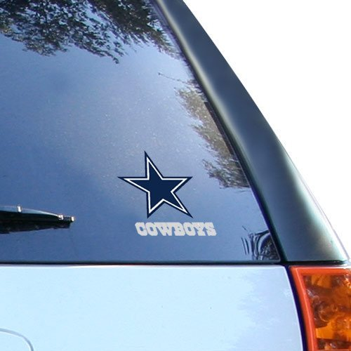 Rico Industries NFL Dallas Cowboys Small Window Cling,Navy,3.5