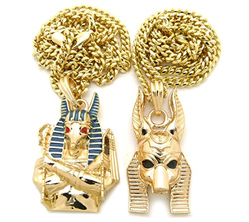 Egyptian God Anubis Pendant 24