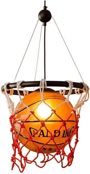 Ganeep Baloncesto Retro Americano Luces Colgantes Personalidad ...