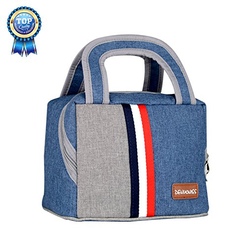 Insulated Lunch Bag Lunch Box Cooler Bag Camping bag with Zipper for Men, Women, Kids (7.5L)