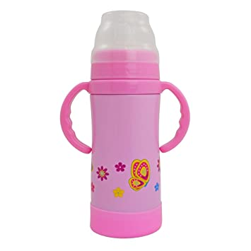 EcoVessel con Boquilla niños Botella de Agua de Acero ...