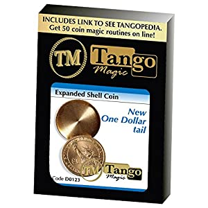 MMS D0123 Expanded Shell New One Dollar (Tails with DVD) by Tango Magic