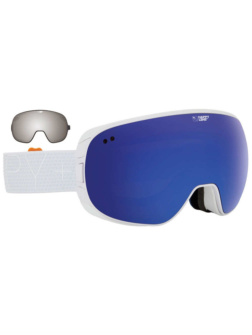 Spy Optic Spy + Eero Niemela Happy Doom Winter Sport Racing Snowmobile Goggles, Bronze w/ Dark Blue Spectra, One Size