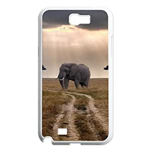 Elephant Customized Cover Case for Samsung Galaxy Note 2 N7100,custom phone case ygtg524862