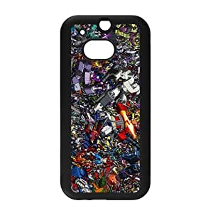 Classic Movie&Transformers Background Case Cover for HTC One M8 - Hard PC Back&4 sides TPU Protective Case Shell-Perfect as gift