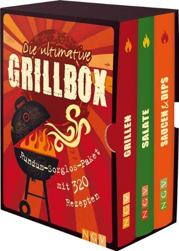 Die ultimative Grillbox: Rundum-Sorglos-Paket mit 320 Rezepten