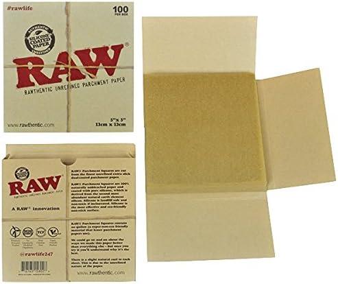 Raw Unrefined Parchment Paper