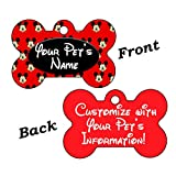 uDesignUSA Disney Mickey Mouse Double Sided Pet Id Dog Tag Personalized with 4 Lines of Text