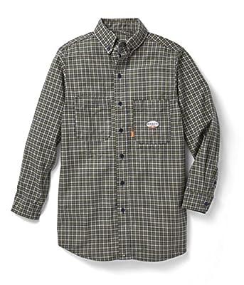 Men's Rasco 7.5-oz. Fire Retardant Long Sleeve Dress Shirt