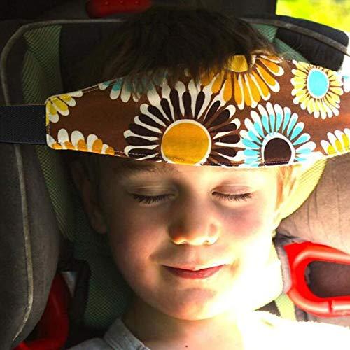 Einstellbare Kindersitz Befestigung Kopfband Autositz Schlafhaar Hilfe Kopfst/ütze Schlaf Kopfst/ützhalter G/ürtel(1 PCS Zuf/ällige Farbe)