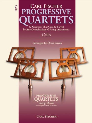 BF71 - Progressive Quartets for Strings - Cello