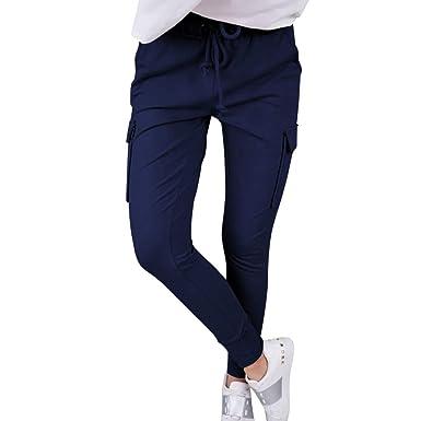 OverDose pantalones Chandal Mujer Pantalones Chinos Mujer ...