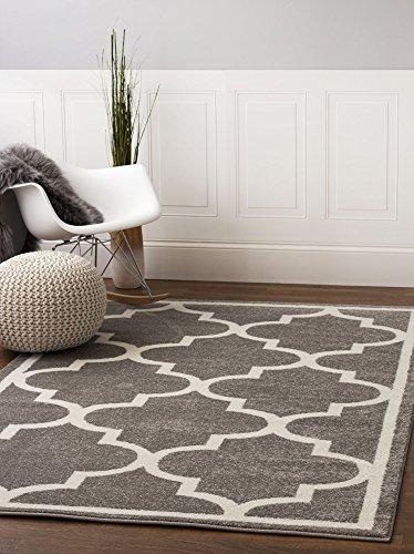 Contemporary Trellis Quatrefoil Designer Area product image