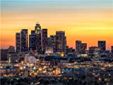 What Are the Dimensions of a California King LOS ANGELES SKYLINE GLOSSY POSTER PICTURE PHOTO la california kings lakers