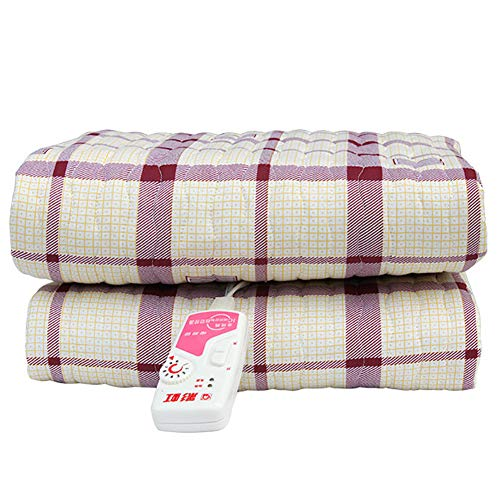SRTLT Electric Heated Throw, 9-Speed Stepless Thermostat Cotton Thickening...