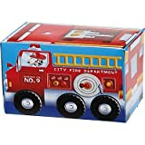 6 Fire Engine Fun Party Treat Boxes