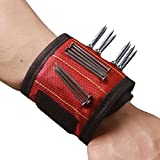 Super Strong Magnetic Wristband Comfortable Design with Breathable Material for Holding Tools Embedded with Super Powerful Magnets CTD01 (2 Pack)