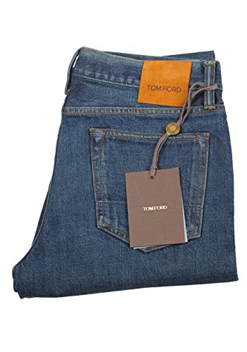 Tom Ford CL Blue Slim Fit Jeans TFD001 Size 48/32 - Ford Fit Tom
