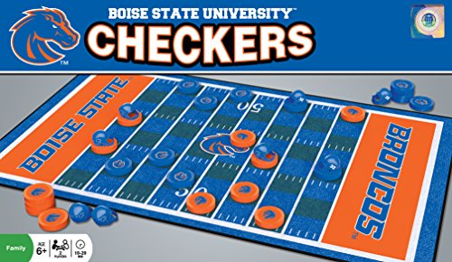 MasterPieces NCAA Boise State Broncos Checkers (Ncaa Checkers)