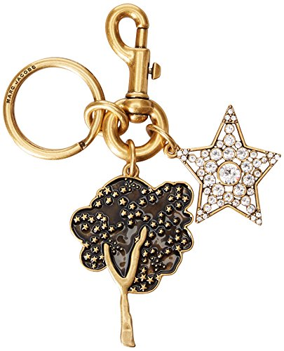 Marc Jacobs Women's Cartoon Enamel Tree and Star Bag Charm, Antique Gold by Marc Jacobs