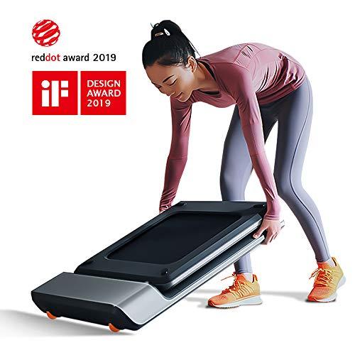 KINGSMITH WalkingPad P1 Smart Walk Folding Treadmill – Slim Foldable Exercise Fitness Equipment Under Desk Running Walking Pad Outdoor Indoor Gym