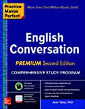 img - for Practice Makes Perfect: English Conversation, Premium Second Edition book / textbook / text book