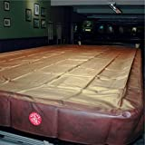 SPARTAN Heavy Duty Water Resistant Full Size Snooker Table Cover - 12FT BURGUNDY