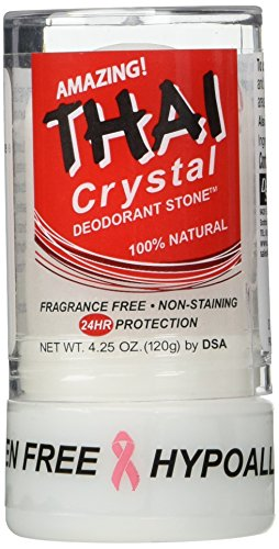 Deodorant Stones of America: Thai Crystal Deodorant, 4.25 oz (Pack of 2)