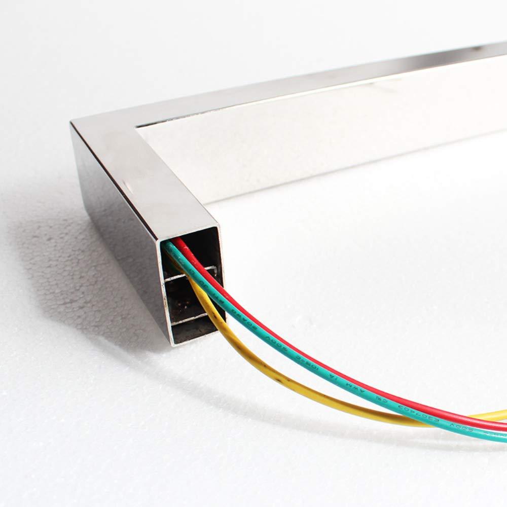 COL PETTI Eléctrica climatizada toallero Calentador Radiador, Acero Inoxidable Toallero eléctrico baño Solo Poste baño Toalla Rack: Amazon.es: Hogar