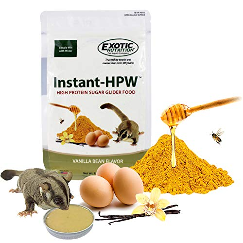 (Exotic Nutrition Instant-HPW Sugar Glider Food 8 oz. (Makes 1.5 lb))