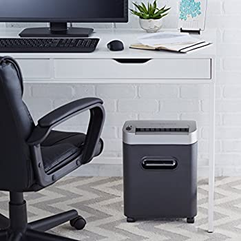 Amazonbasics 8-sheet High-security Micro-cut Paper, Cd, & Credit Card Shredder With Pullout Basket 6