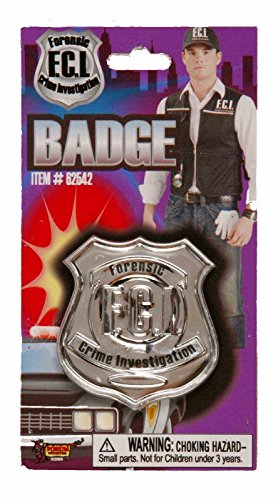 Costume Badge Fbi (Law Enforcement Badge)