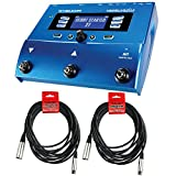 TC-Helicon VoiceLive Play Vocal Effects Pedal Bundle with (2) XLR Cables