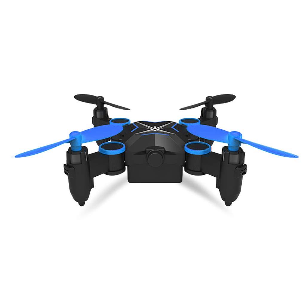 Drone [Mini] Control Remoto aeronave aerea HD de Cuatro Ejes aeronave de Carga niño Juguete - no fotografía aérea - Azul Cielo