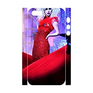 C-EUR Cell phone Protection Cover 3D Case Lady Gaga For Iphone 5,5S