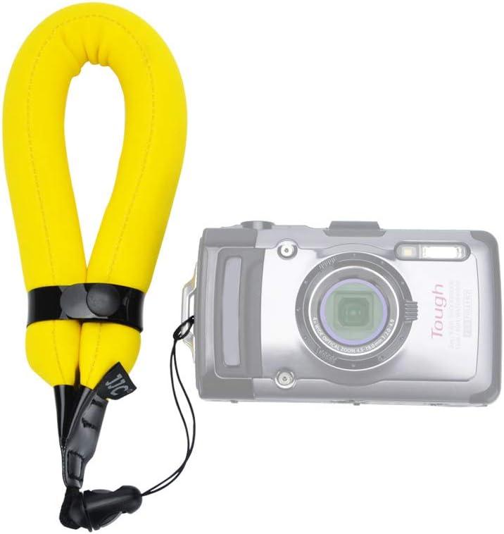JJC Waterproof Camera Float Strap Cell Phone Float Strap Compatible with Olympus TG-6 TG6 TG-5 TG5 TG-4 Nikon W300 W100 Fuji XP90 XP140 XP130 XP80 /& Smartphone iPhone Samsung Inside Waterproof Case
